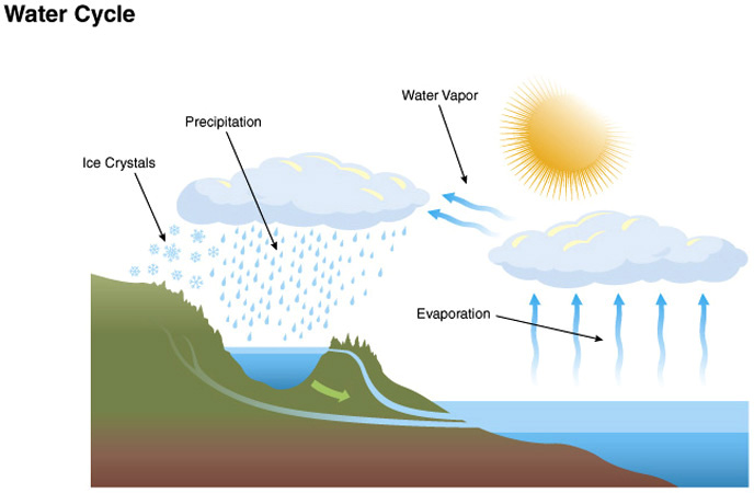 Clic high school solutions clic earth and space science water cycle ccuart Images