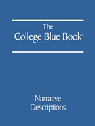 The College Blue Book, ed. 44