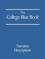 The College Blue Book, ed. 44 cover