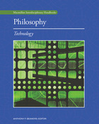 Philosophy: Technology