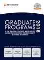 Petersons� Graduate Programs in the Physical Sciences, Mathematics, Agricultural Sciences, the Environment & Natural Resources 2018, ed. 52 cover