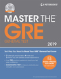 Petersons� Master the GRE� General Test 2019, ed. 25 cover