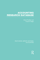 Accounting Research Database, Vol. 60