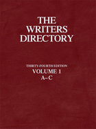 The Writers Directory, ed. 34