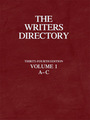 The Writers Directory, ed. 34 cover
