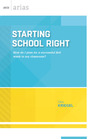 Starting School Right: How Do I Plan for a Successful First Week in My Classroom? cover
