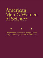 American Men & Women of Science, ed. 34: A Biographical Directory of Today?s Leaders in Physical, Biological and Related Sciences