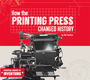How the Printing Press Changed History cover