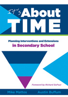 Its About Time: Planning Interventions and Extensions in Secondary School