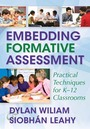 Embedding Formative Assessment: Practical Techniques for K-12 Classrooms cover