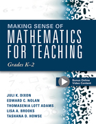 Making Sense of Mathematics for Teaching Grades K?2