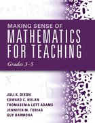 Making Sense of Mathematics for Teaching Grades 3?5