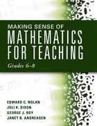 Making Sense of Mathematics for Teaching Grades 6?8