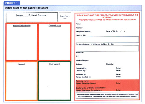health passport template  Academic OneFile - Document - One-page patient passport for people ...