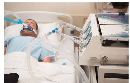 Full to scale in regard to mechanical design, the device simulates patient  breathing by having lungs rise and fall. It can measure many different  pulmonary ...