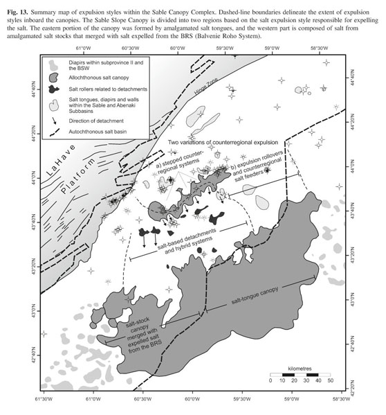 OETR (Offshore Energy Technical Research Association) 2011. Play Fairway Analysis Atlas -Offshore Nova Scotia. Nova Scotia Department of Energy Report ...  sc 1 st  Gale & Academic OneFile - Document - Variations in salt expulsion style ...