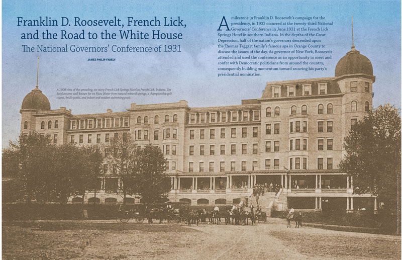 Conference french indiana lick