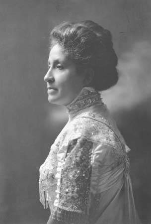 Mary Church Terrell, Civil Rights Activist and Organization Executive, c. 19201930. Terrell was elected the first president of the National Association of Colored Women when it was formed in 1896.