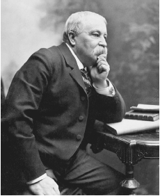 William Dean Howells in 1896. THE GRANGER COLLECTION, NEW YORK