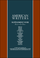 American Writers: A Collection of Literary Biographies, Supplement 18