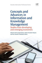 Concepts and Advances in Information Knowledge Management: Studies from Developing and Emerging Economies