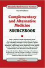 Complementary and Alternative Medicine Sourcebook, ed. 4 cover