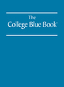 The College Blue Book, ed. 34 cover
