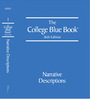 The College Blue Book, ed. 36 cover