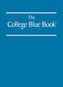 The College Blue Book, ed. 38 cover