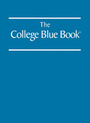 The College Blue Book, ed.  cover