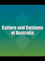Culture and Customs of Australia cover