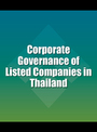 Corporate Governance of Listed Companies in Thailand cover