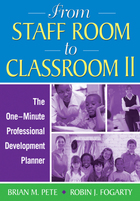 From Staff Room to Classroom II: The One-Minute Professional Development Planner