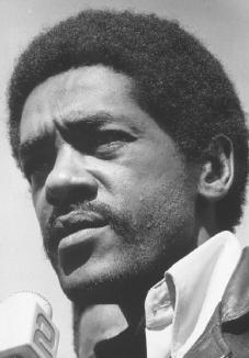 Bobby Seale. A founder of the Black Panthers, and a leader of the militant organization until he left in 1974. ARCHIVE PHOTOS, INC.
