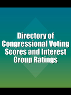 Directory of Congressional Voting Scores and Interest Group Ratings, ed. 4