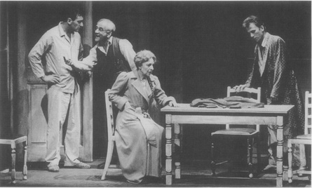 A scene from the 1979 production at the National Theatre in London