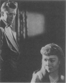 Jane Wyman and Kirk Douglas in the 1950 film adaptation.
