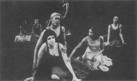 A scene from the 1976 Broadway production