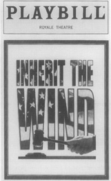 A playbill from the Royale Theatre performance