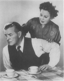 Blackmer and Booth as the troubled couple at the center of Inges drama