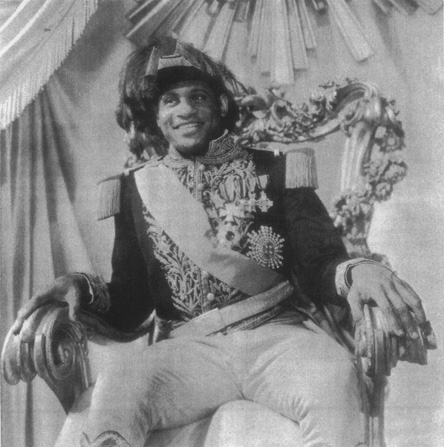 A 1933 production featuring Paul Robeson as the Emperor Brutus Jones, the second notable actorfollowing Charles Gilpinto essay the role
