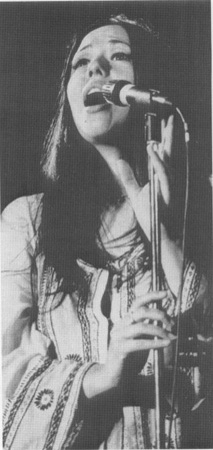 Yvonne Elliman as Mary Magdalene in a scene from the stage production
