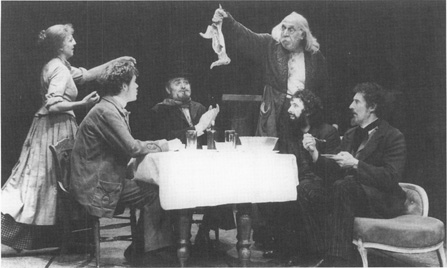 A Phoenix Theatre production of The Wild Duck, 1990