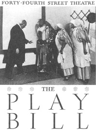Playbill cover for the 1935 production of The Green Pastures at New Yorks Forty-Fourth Street Theatre.