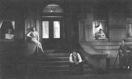 A scene from United Artists 1931 film adaptation of Street Scene.