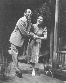 A scene from a 1982 production of Talleys Folly at Torontos Theatre Plus.