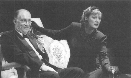 A scene from the 1997 theatrical production of T. S. Eliots play The Cocktail Party
