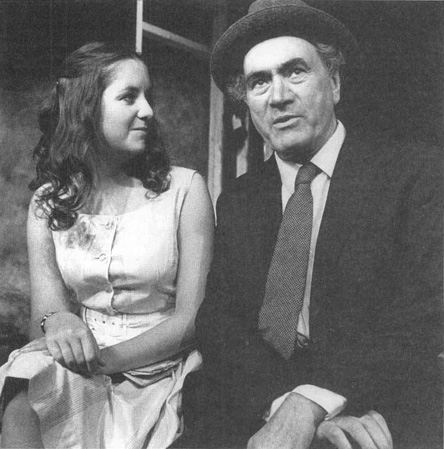 A scene from a theatrical production of Hugh Leonards play Da