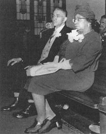 Marita Bonner and her husband, William Occomy