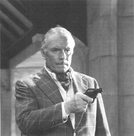 Laurence Olivier in a scene from the 1972 film adaptation of Sleuth